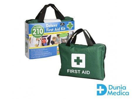 210 Pcs Deluxe First Aid Kit